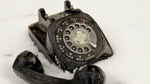 Cold caller black phone