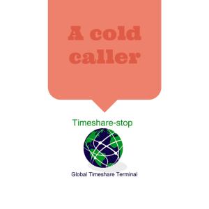 A cold caller